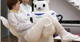 Robot Robear para ayudar a levantar pacientes o enfermos